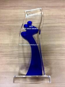 DeVilbiss HealthCare 頒發2013最佳銷售增長