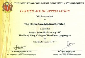 The Hong Kong College of Otorhinolaryngologists